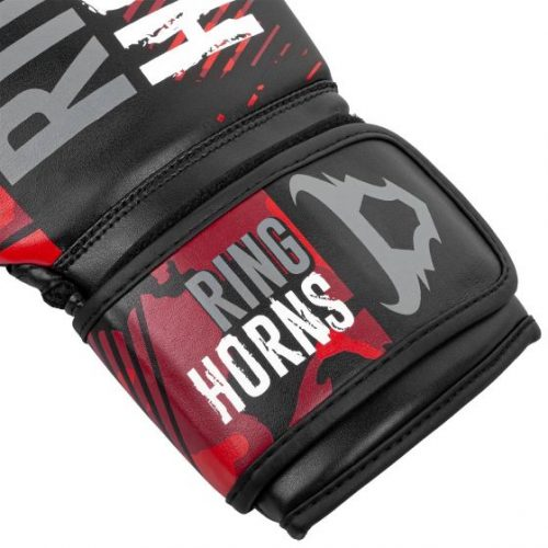 Ringhorns Charger Camo Boxing Gloves Black Red