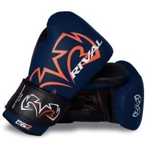Rival RS11V Evolution Sparring Gloves Velcro Blue