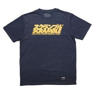 Scramble Jiu-Jitsu Counterculture T-Shirt Heather Navy