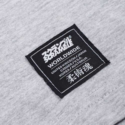 Scramble Technique and Spirit Long Sleeve T-Shirt Grey
