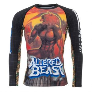 Tatami Sega Altered Beast Rash Guard