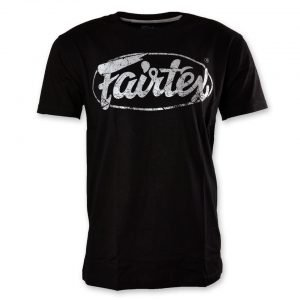 Fairtex TST148 Limited Edition T-Shirt Black Silver