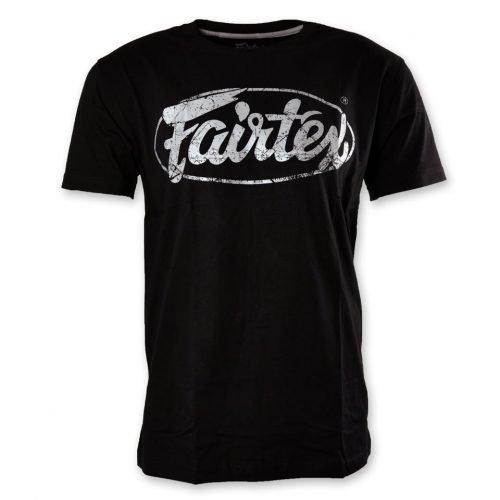 Fairtex TST148 Limited Edition T-Shirt Black Silver