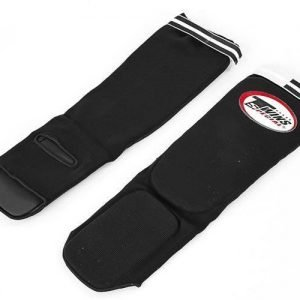 Twins Special Elastic Shinguards SGN1 Black