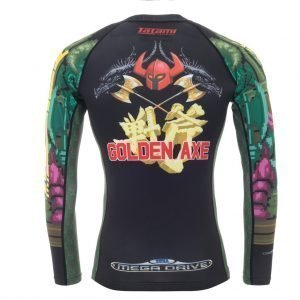 Tatami Sega Golden Axe Rash Guard Long Sleeve