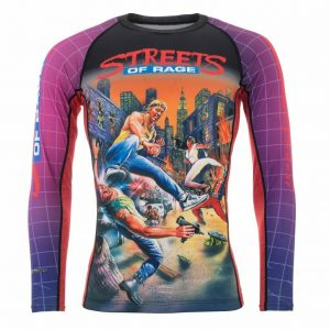 Tatami Sega Streets Of Rage Rash Guard