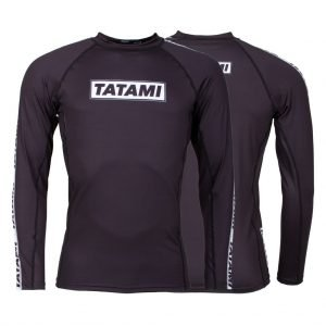 Tatami Dweller Rash Guard Long Sleeve Black