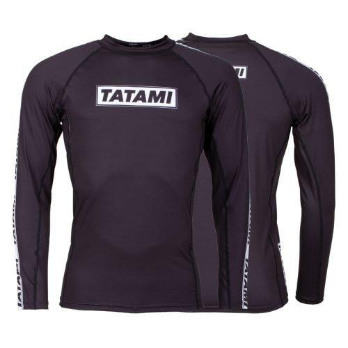 Tatami Dweller Rash Guard Long Sleeve Black