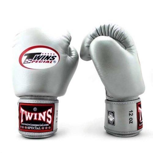 Twins Boxing Gloves BGVL3 Silver