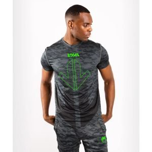Venum Arrow Loma Signature Collection Dry Tech T-Shirt Dark Camo