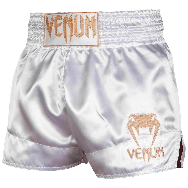 Pink//White Venum Classic Muay Thai Shorts