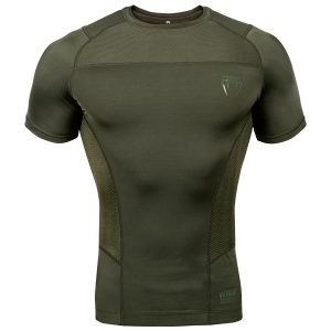 Venum G-Fit Rash Guard Short Sleeve Khaki