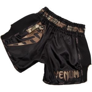 Venum Giant Muay Thai Shorts Black Forest Camo
