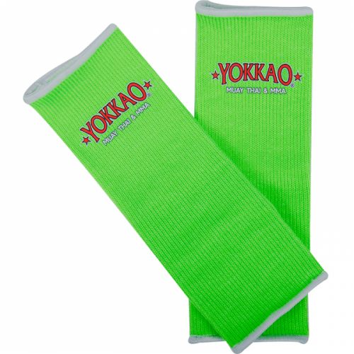YOKKAO Ankle Guards Green