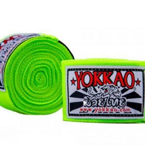YOKKAO Hand Wraps 2.5M Neon Green