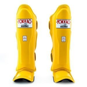 YOKKAO Matrix Gold Fusion Shin Guards