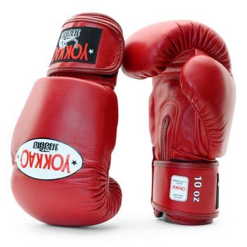 Yokkao Matrix Muay Thai Boxing Gloves Biking Red