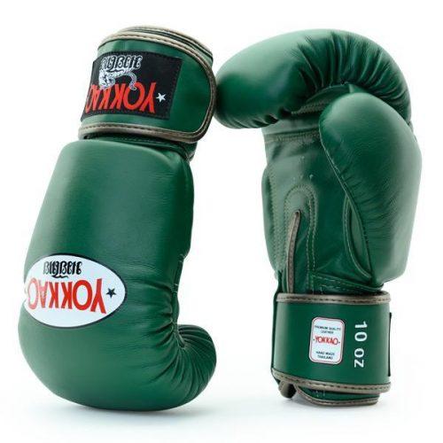 Yokkao Matrix Muay Thai Boxing Gloves Eden Green