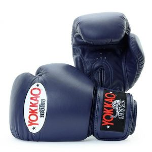 Yokkao Matrix Muay Thai Boxing Gloves Evening Blue