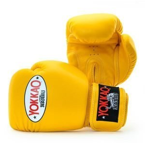 Yokkao Matrix Muay Thai Boxing Gloves gold fusion