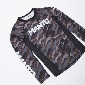 Manto Long Sleeve Rash Guard Tactic