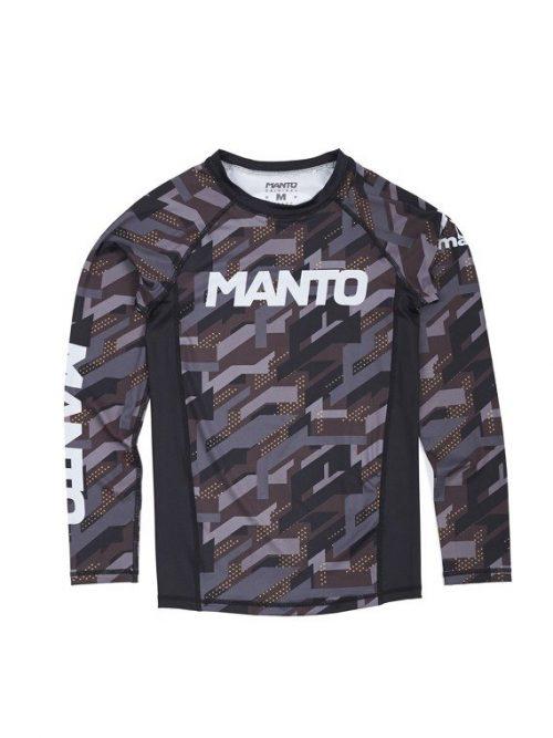 Manto Long Sleeve Rash Guard Tactic