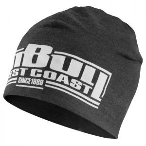 Pitbull Sports West Coast Beanie Classic Boxing Charcoal