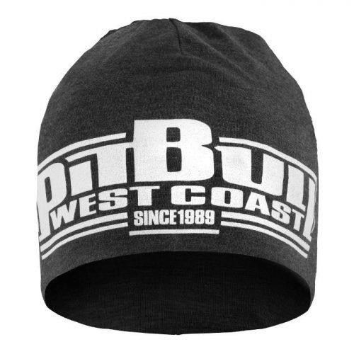 Pitbull Sports West Coast Beanie Classic Boxing Charcoal