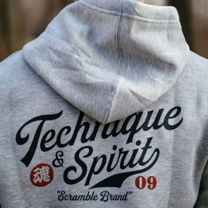 Scramble Technique and Spirit Pullover Hoodie Grey