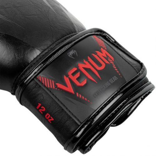 Venum Impact Boxing Gloves Black Red