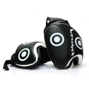 Fairtex TP3 Deluxe Thigh Pads Black