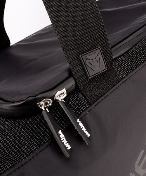 Venum Trainer Lite Evo Sports Bag Black Black Venum Trainer Lite Evo Sports Bag Black White