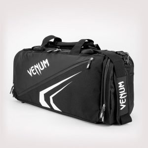 Venum Trainer Lite Evo Sports Bag Black White