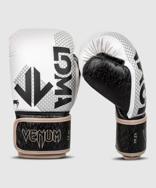 Venum Arrow Boxing Gloves Loma Edition White Silver