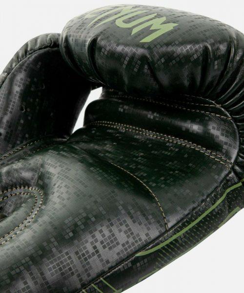 Venum Commando Boxing Gloves Loma Edition Black Green 4
