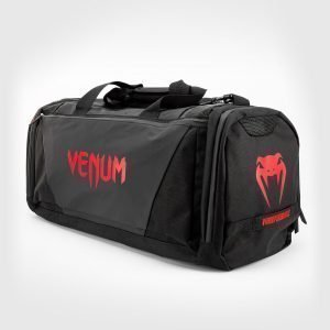 Venum Trainer Lite Evo Sports Bag Black Red