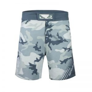 Bad Boy Soldier MMA Shorts Camo Grey