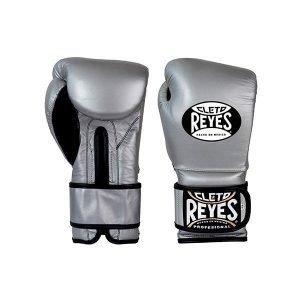 Cleto Reyes Wrap Around Velcro Sparring Gloves Silver Bullet