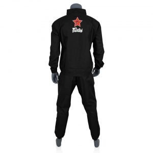 Fairtex VS2 Vinyl Sweatsuit Black