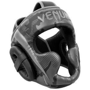 Venum Elite Head Guard Black Dark Camo
