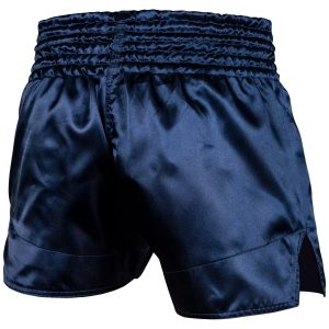 Venum Muay Thai Shorts Classic Navy White