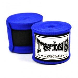 CH5 Twins 5m Blue Premium Elastic Handwraps