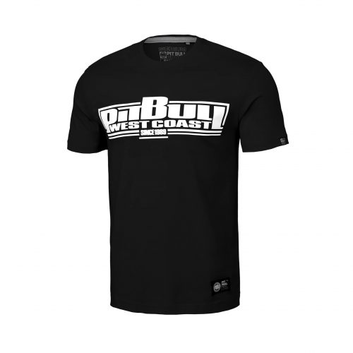 Pitbull Classic Boxing T-Shirt Black