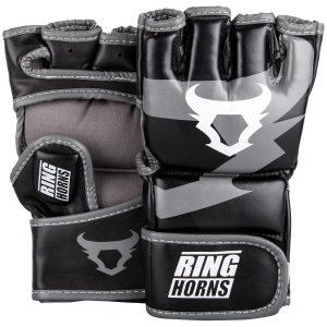 Ringhorns Charger MMA Gloves Black Grey