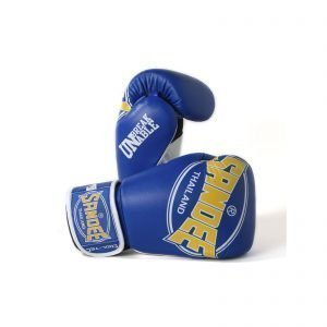 Sandee Cool-Tec Boxing Gloves Blue Yellow White