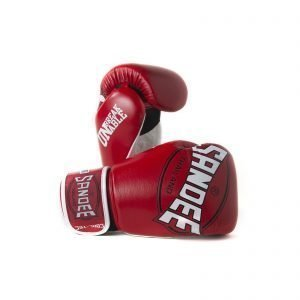 Sandee Cool-Tec Boxing Gloves Red White Black