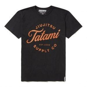 Tatami Classic Logo T-Shirt Black
