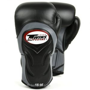 Twins BGVL6 Deluxe Sparring Gloves Black Grey