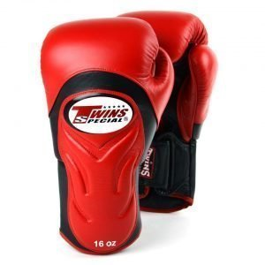 Twins BGVL6 Deluxe Sparring Gloves Red Black