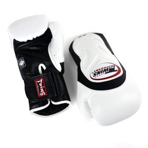 Twins BGVL6 Deluxe Sparring Gloves White Black